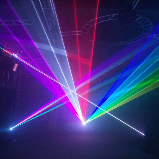 NP6RGB laser show projector