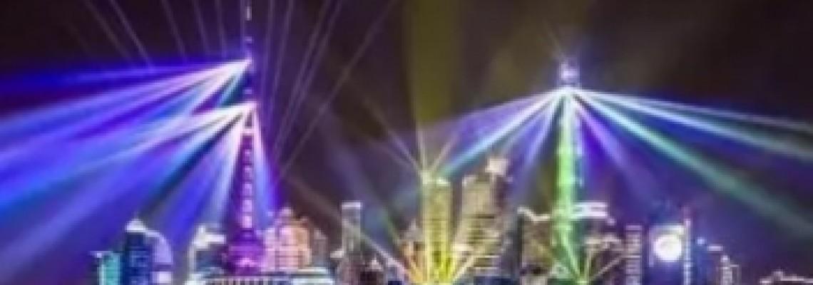 ShangHai Building lighting