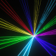 1w RGB laser light