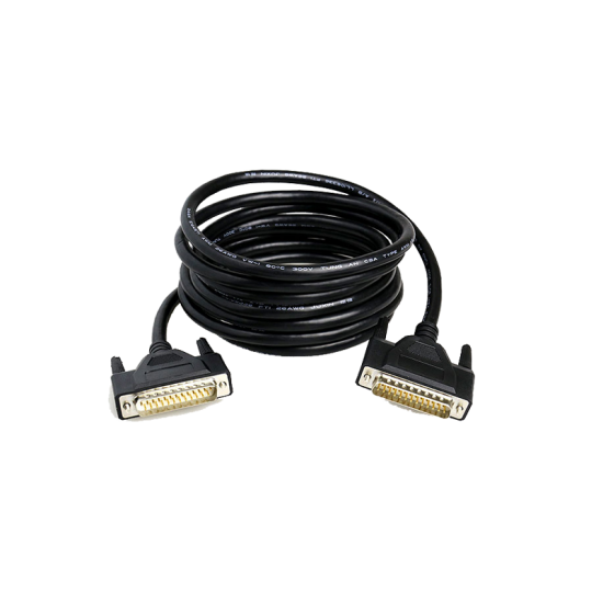 DB25 F/M ILDA cable 20meters