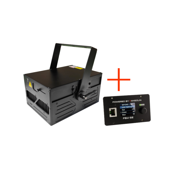 NP11RGB laser projector FB4