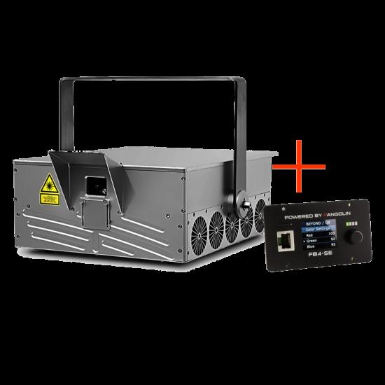 WP30RGB laser projector FB4